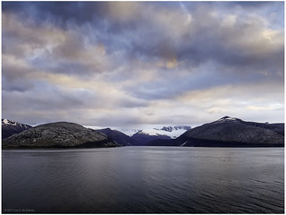 Fjords and channels landscape of Chile