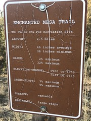 (Plannerd) Tags: signage sign trailsign recreation openspace ridgwaystatepark colorado ridgway