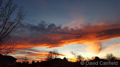 November 26, 2017 - Another amazing Colorado sunset. (David Canfield)