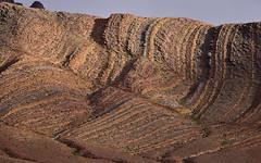 Anti Atlas 9 (orientalizing) Tags: antiatlas bedding colorful craggy desert desktop featured folding issafn landscape morocco striations wadiissafn