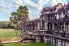 Wall of Angkor Wat temple (Evgeny Gorodetskiy) Tags: temple siemreap angkor cambodia asia travel angkorwat krongsiemreap siemreapprovince kh