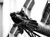 Dragon (markb120) Tags: architecture sculpture building fountain gargoyle dragon bw prague