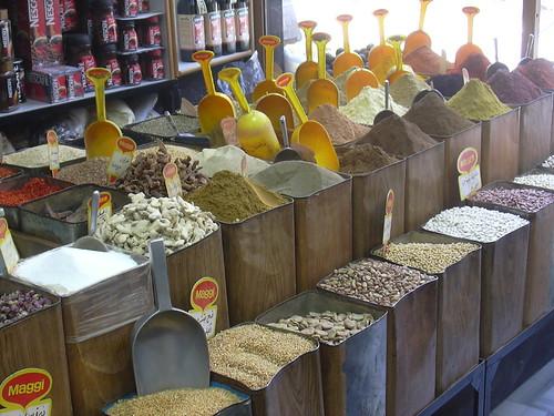 Damaskus, Shopping im Souq, Gewürze