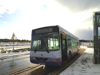 62164 On Route 16 at Dyce (Craibstone) Park & Ride