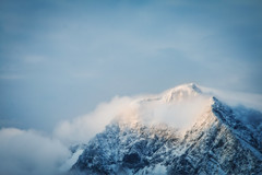Godly Places (Niks Freimanis) Tags: norway norge north finnmark tromso lyngenfjord lyngen alps mountains clouds snow sunrise sunlight sky telephoto canon 70d 70200 l f4 travel landscape nature raodtrip