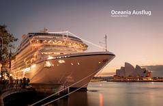 Oceania Marina (dcEasy) Tags: cruise ship marina oceania cruises sydney harbour white aerial morning mooring australia boat photography photographer cruiseship nsw aus
