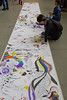 Life in Colour Family Colouring Day (Beaty Biodiversity Museum) Tags: life colour ubc beaty biodiversity museum mural family art exhibit exhibition science marker drawing crayola kids