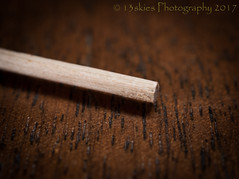 Stick (HMM) (13skies) Tags: macromondaysstick happymacromonday stick wood small tiny sticking macroscopic macro table sonyalpha100 a100 shots frustrated challenge focus