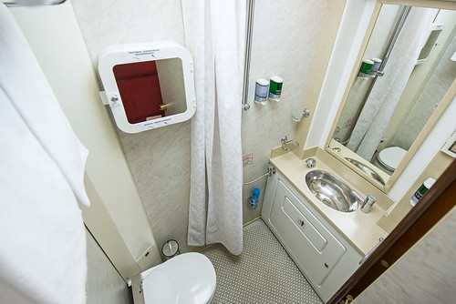Imperial Russia Business Class private bathroom