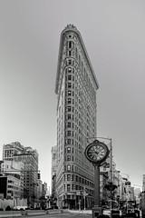 Flatiron Building (RadPhotos, New York) Tags: blackandwhite clock flatiron flatironbuilding flatirondistrict manhattan nyc newyork newyorkbuildings newyorkcity street streetsofnewyork usa unitedstates us