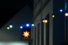 Xmas Lights (Michael Moeller) Tags: christmas architecture oldenburg