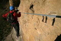 Via Ferrata de Digne les Bains (dignelesbainstourisme) Tags: viaferrata digne alpesdehauteprovence france dignelesbains hauteprovence sport grimpe nature vue landscape