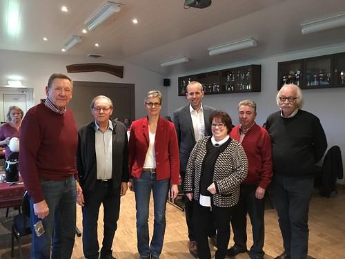 Weihnachtsfeier der AG 60+ der SPD in Portsloge.