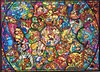 Disney All Characters Stained Glass (2000 pcs) (ZomZorrow) Tags: jigsaw puzzle disney stained glass snow white sleeping beauty dumbo society dog show ugly duckling three little pigs seven dwarfs don donald micky pinocchio 101 dalmatians aladdin jasmin tangled lion king lilo stitch hercules pocahontas jungle book aristocats mermaid caballeros cold blooded penguin alice wonderland peter pan lady tramp winnie pooh bambi saludos amigos pedro goofy wilbur hiawatha brave tailor minnie bright amazing colourful awesome cardboard 2000 pieces all stars rabbit mad tea party