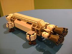 DSC08574 (tekmoc17) Tags: lego custom moc eagle space 1999 tv show brick spaceship moonbase alpha