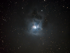 Iris Nebula (NGC7023) in (CLS+Hα)RGB (Carballada) Tags: astrophotography astronomy deep space astro celestron zwo as1600mmc skywatcher ts sky qhy qhy5iii174 narrowband gso rc8