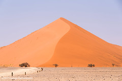 Dunes in Sossusvlei, Namibia (George Pachantouris) Tags: namibia africa southern travel holiday desert namib sossusvlei deadvlei hot sand dune dunes