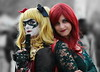 OKIMG_0310 (taymtaym) Tags: luccacomicsgames2017 lucca comics games 2017 cosplay cosplayers costumes costumi costume cosplayer girl modella model ragazza viso volto ritratto portrait face dc batman poison ivy harley quinn
