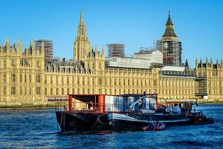 London riverside.