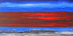 The threat - die Bedrohung (Peter Wachtmeister) Tags: artinformel art modernart artbrut abstract abstrakt acrylicpaint popart surrealismus surrealism hanspeterwachtmeister