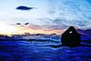 the sorrow (LavenderMillie) Tags: sight blind hurt broken fence processed slidersunday sunset sky