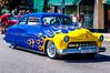 Flaming (chuck_raup) Tags: auto car mercury hot hotrod yellow blue custom outdoors outdoor outside oldcar old sumner sumnerwa sunlight northwest naturallight nikon nikond90 tamron tamron1750 usa carshow