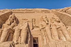 Temple d'Abu Simbel (Porschista) Tags: abusimbel egipte ramsesii temple estàtues estátuas nefertari