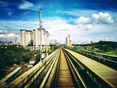 RapidKL Kota Damansara (SBK07) MRT Station - Persiaran Surian, Technology Park - http://4sq.com/1vHzttg #keretapi #selangor #travel #holiday #trains #railway #Asian #Malaysia #旅行 #度假 #火车 #亚洲 #马来西亚 #MRT #building #高楼 #雪兰莪 #Selangor