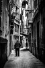 Cobbled Alley (King Grecko) Tags: bw palma alley blackandwhite cobbledstreet contrast lane life mallorca spain streetphotography