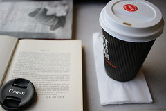 Long Train Rides (Friendly Photos) Tags: canon book coffee trainrides trains chill relaxing scotland macro edinburgh vacation travel study travelphoto books geography