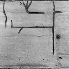 msg2mf (pavel photography) Tags: abstract bwfilm blackandwhitefilm ilford hasselblad hasselblad500cm planar80t wallwriting 6x6film 6x6 columbus