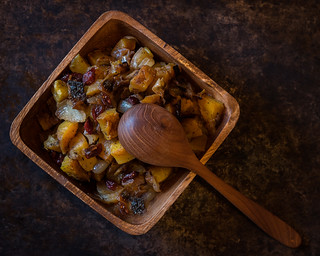 Roasted Butternut Squash with Cranberries (Explored)