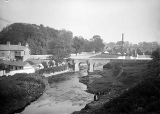 And a river runs through it (Dodder, Dublin)