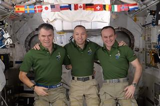 Expedition 53 crew selfie