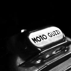 Moto Guzzi (D.H.S Photography) Tags: ifttt 500px old monochrome motorcycle bnw classic cool motor italian logo moto guzzi