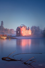 One of those mornings... (Geoff Moore UK) Tags: historic autumn buildings cloudinversion coldlandscape coldmisty dawn fladbury foggy frosthoarfrost mill mist morning reflections runningwater sunlight sunrise temrpreture uk water worcester worcestershire