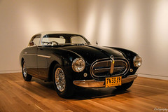 1951 Ferrari 212 Inter (Rivitography) Tags: 1951 ferrari 212inter black car exotic fast expensive rare antique classic old automobile vehicle italian newyork nyc manhattan 2017 canon lightroom rivitography