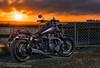 Blazing Storm (RockSolid0077) Tags: waihopaiwalkway southland invercargill newzealand nz motorcycles triumph triumphmotorcycles sunsets