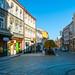 Street in Przemysl, Poland