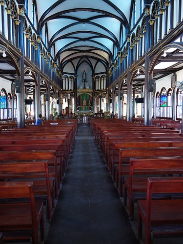 On peut venir ici pour prier et lors de cérémonies religieuses