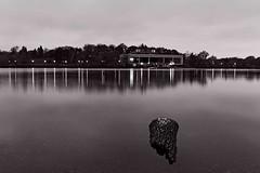 November morning, Como Lake (TwinCitiesSeen) Tags: saintpaul minnesota twincities comolake twincitiesseen blackandwhite longexposure canon6d tamron2875mm