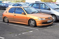 1997 Peugeot 306 D Turbo (>Tiarnán 21<) Tags: probably lowest car ive ever seen peugeot 306 d turbo s nji