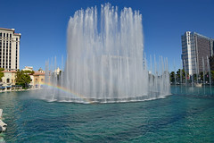 Luck Is Where You Make It (BKHagar *Kim*) Tags: bkhagar lasvegas vegas nv nevada bellagio hotel casino fountains water show dance music spray rainbow sparkle