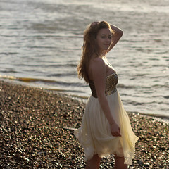 on the Thames by unexpectedtales - On the Thames with stunning Nicole