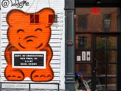 Whisbe street art nyc (ZUCCONY) Tags: 2017 nyc newyork unitedstates us bobby zucco bobbyzucco pedrozucco art arte street mural murales graffiti rue calle yesstreetart