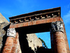 Capitals with winged Victories - House of the Great Portal at Herculaneum, buried by Vesuvius' eruption on 79 AD (Carlo Raso) Tags: ercolano herculaneum greatportal capital victory