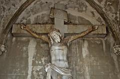 Holy Shit (Santini1972) Tags: abandoned jesus shit cemetery nikond5100 nikonflickraward flickr abandondedspain barcelona spain catalonia religion christ