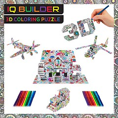 IQ BUILDER | 3D ART COLORING PUZZLES FOR KIDS AND ADULTS | BEST FUN CREATIVE ARTS AND CRAFTS KIT TOY GIFT SET FOR BOYS AND GIRLS AGES 8 9 10 11 12 YEAR OLD | EASY PAINTING STRESS RELAXATION | VEHICLES (saidkam29) Tags: adults ages arts best boys builder coloring crafts creative easy gift girls kids painting puzzles relaxation stress vehicles year