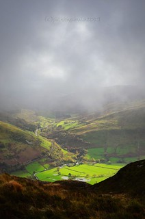 View from Cadair Idris, Wales