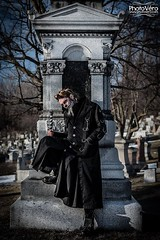 """""""How strange this fear of death is! We are never frightened at a sunset."""" (George MacDonald) (Chrystoff Crowley) Tags: attitude badass beard black boots cane cat cemetery concept contactlenses cosplay facepaint flickr intimidating longcoat longhair makeup male man metalhead model montreal mup pentagram pentagrams photoshoot piercings portrait quote rings skull skulls smile stone strange tattoos tombstone trees weird gothcoat flickrmodel aliceinwonderland character cheshirecat deviantart expressiveeyes facebook handcuffs intenseeyes malemodel piercingeyes professionalmodel internationalmodel modelmayhem instagram montrealmodel malemodeltowatch"""